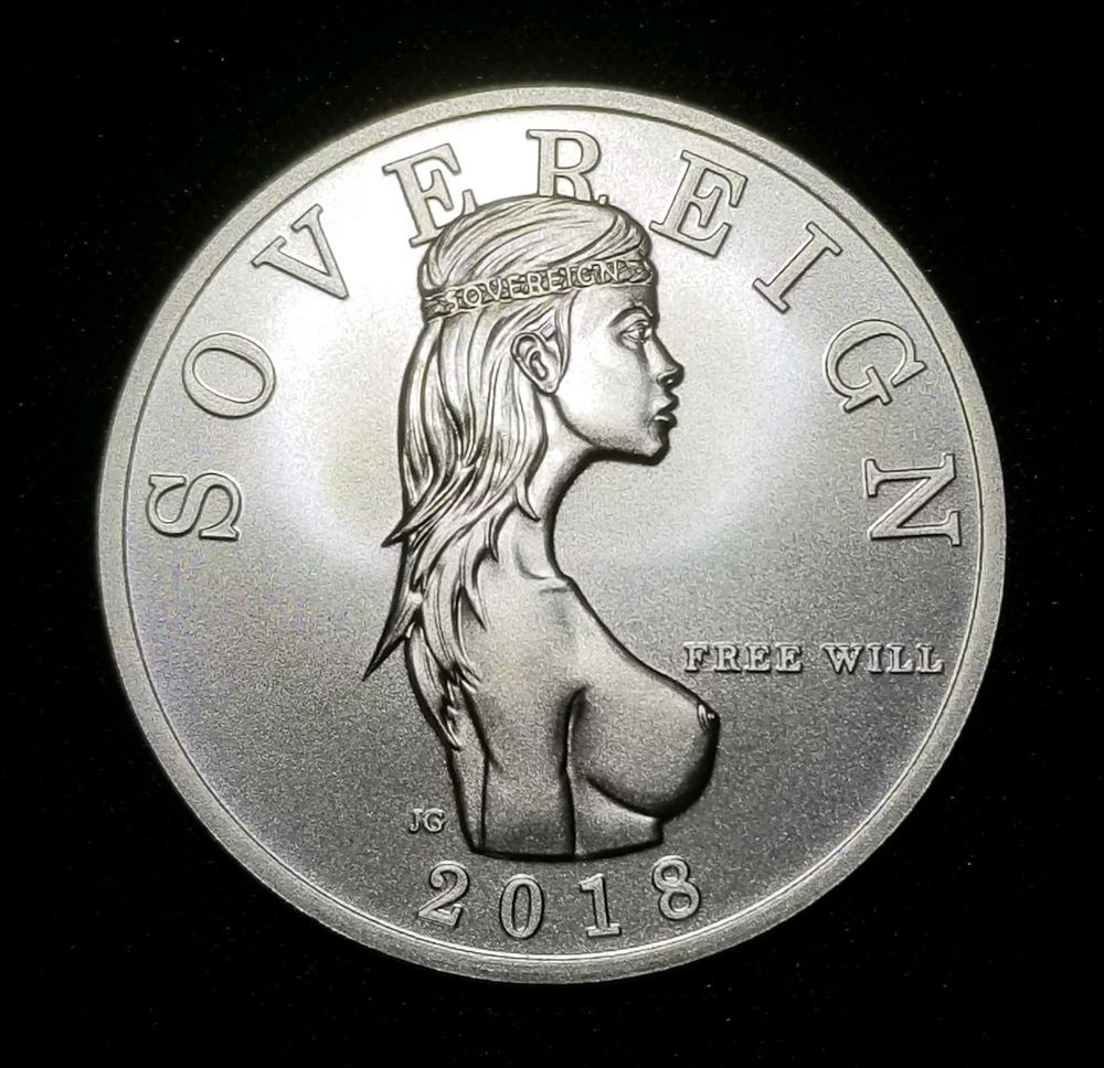 Sealed 2018 Free Will Sovereign 1 Troy Oz 999 Fine Silver Bu Bullion Round Silver Bullion Coins Fine Silver Silver Bullion