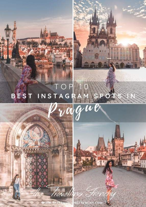 Top 10 Instagram Spots in #Prague by @thetravellingfrenchy #visitprague #instagram