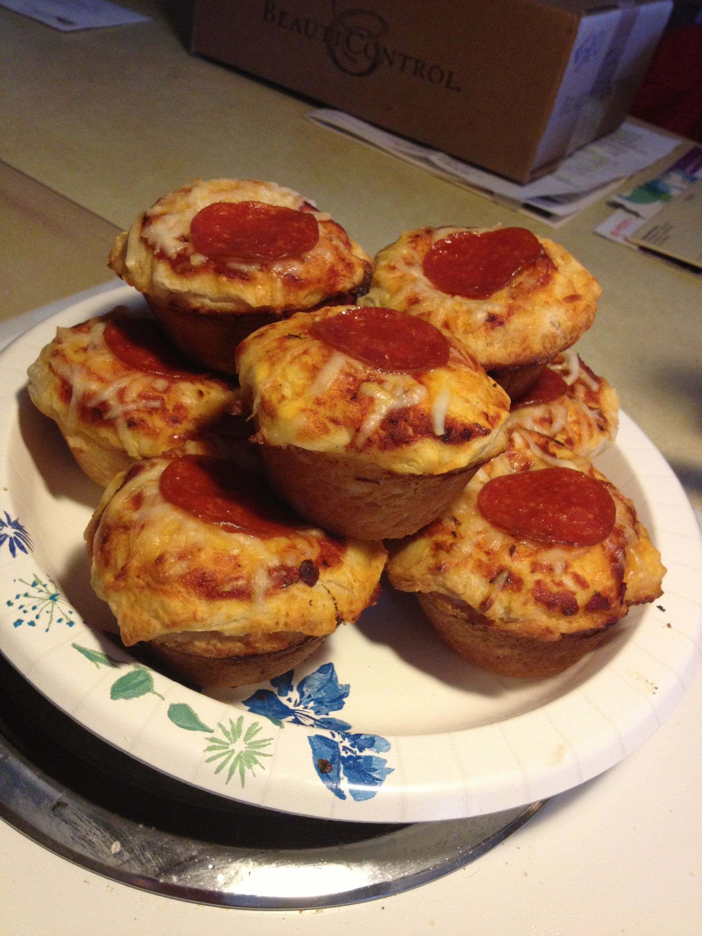 Mini Super Stuffed Pizzas