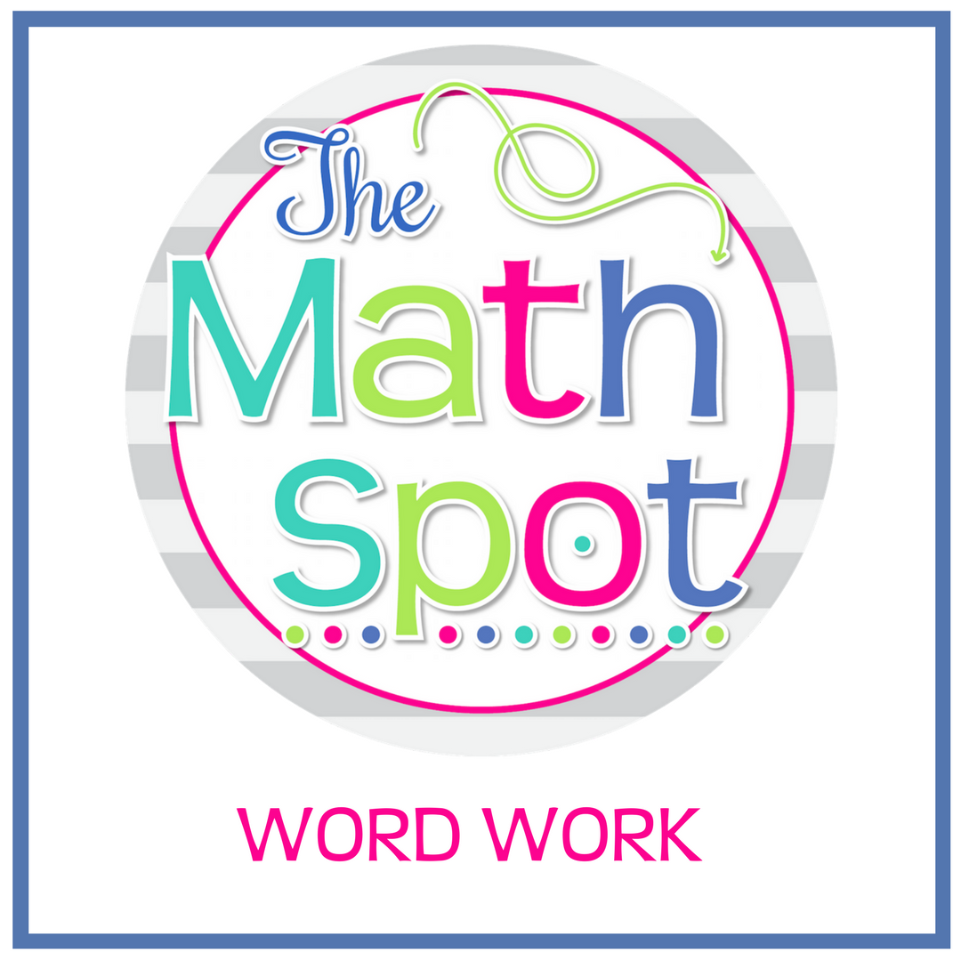 Pin By The Math Spot On Word Work