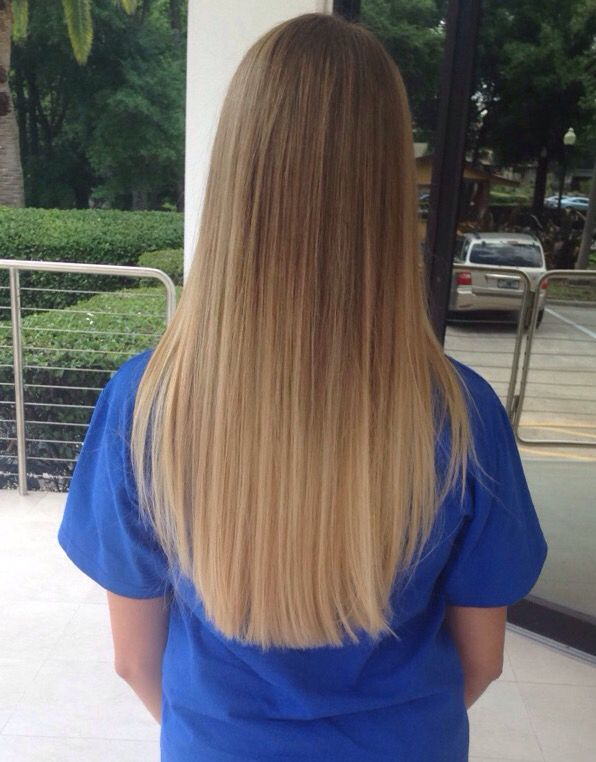 dirty blonde ombr with long hair hair pinterest cheveux couleur cheveux and coiffure. Black Bedroom Furniture Sets. Home Design Ideas