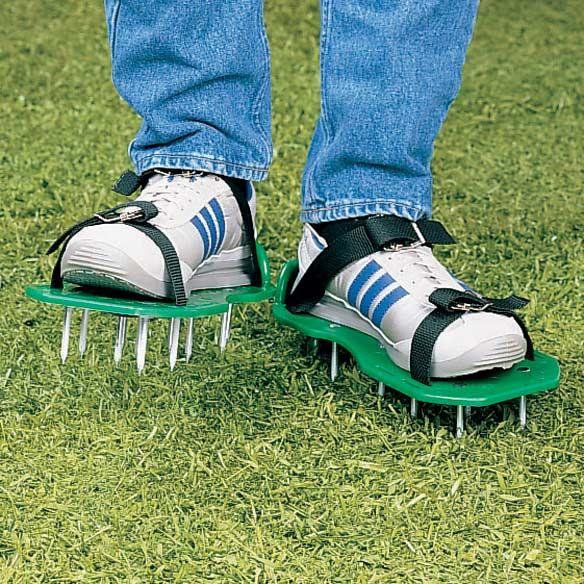 lawn aerator sandals - Aerate Lawn