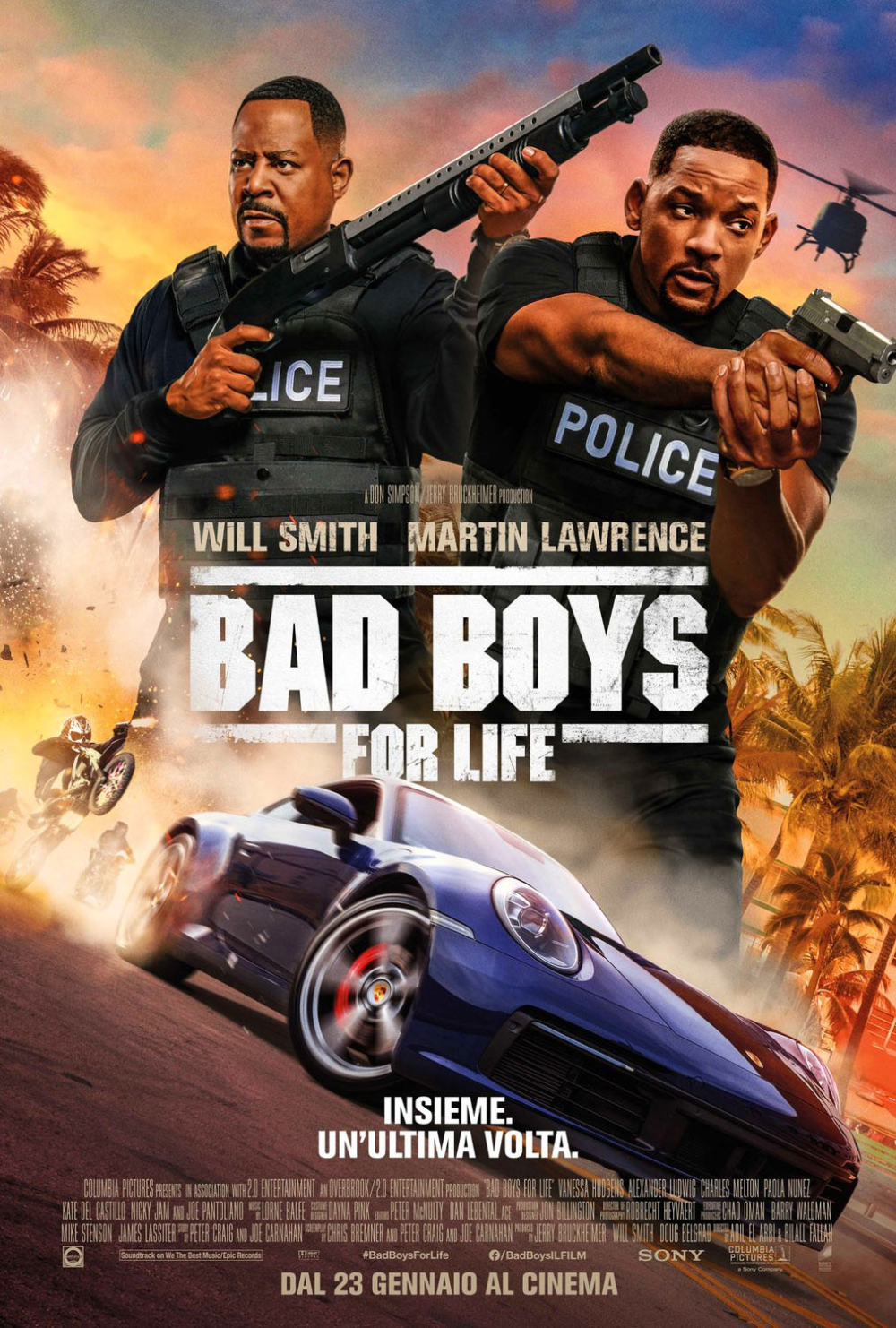Bad Boys For Life International Poster on Behance in 2020