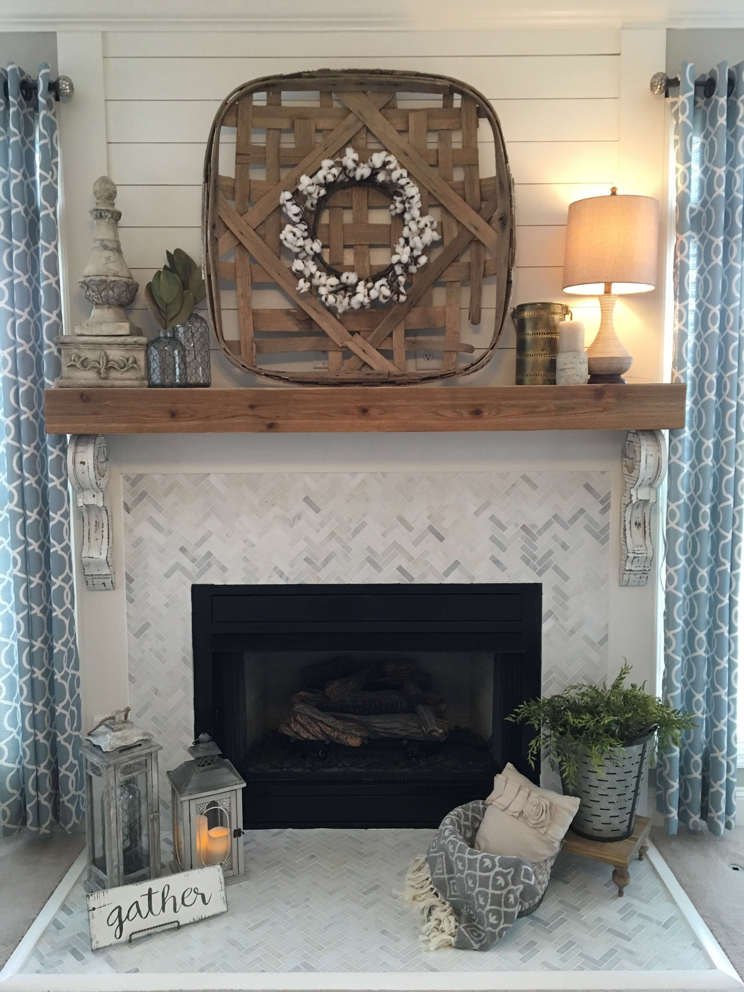 farmhouse mantel decor ideas to make your home unforgettable for