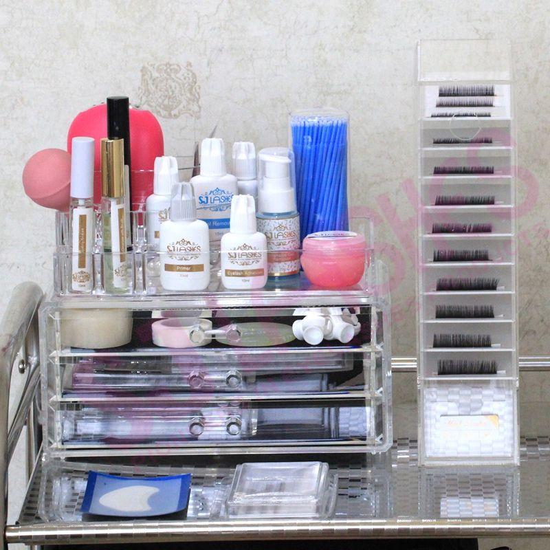 Eyelash Extensions Salon Set Up Ideas: Source Eyelash Extensions Case Tray Display For Salons On