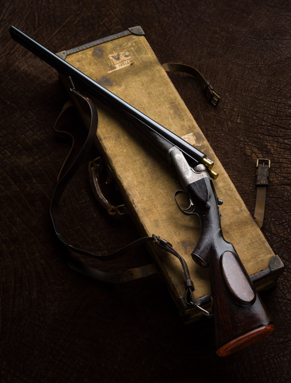 Westley Richards, 577, Droplock Rifle, Sutherland,