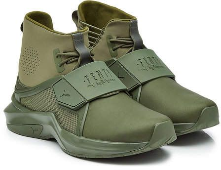 online store 0da76 d2ec9 Sneakers with Leather | Shoes | Puma fenty shoes, Rihanna ...