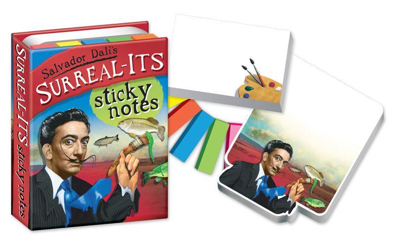 Tus notas con estilo: Salvador Dali´s Surreal-its Sticky Notes