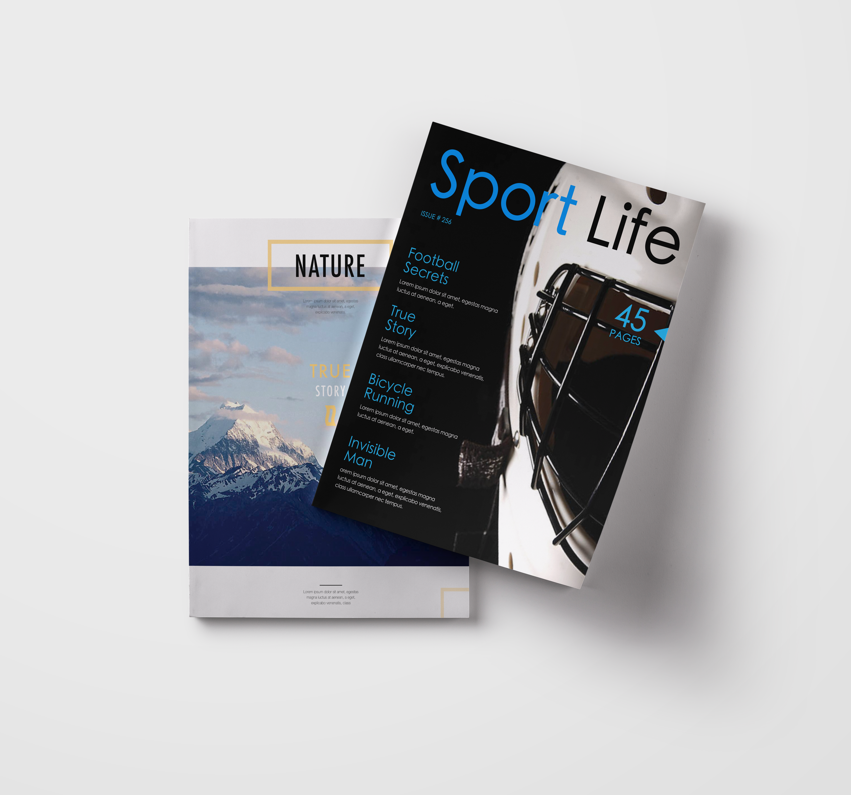 Create multi-sheet magazine or a book with #SwiftPublisher