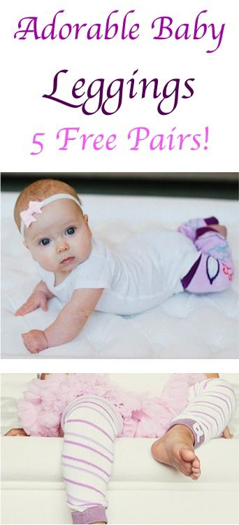 913dff7dbbfe 5 FREE Pairs of super cute Baby Leggings!  just pay s h  - these leg ...