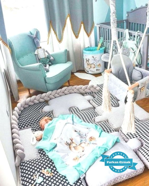 Kinderzimmer; Haus Dekoration; Kleiner Raum; Wandgemälde ...