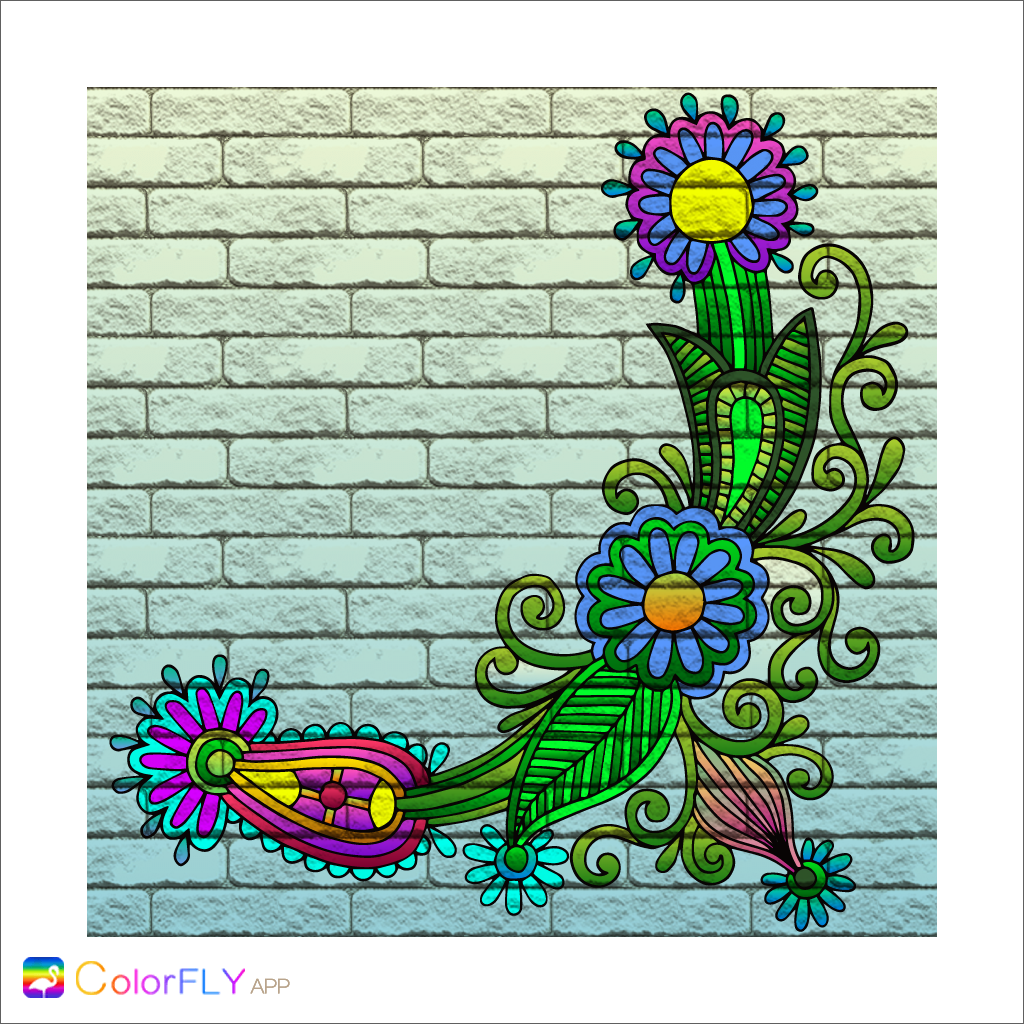 I love this. I created this from the awesome app colorfy. Love it! #coloring #colorfy