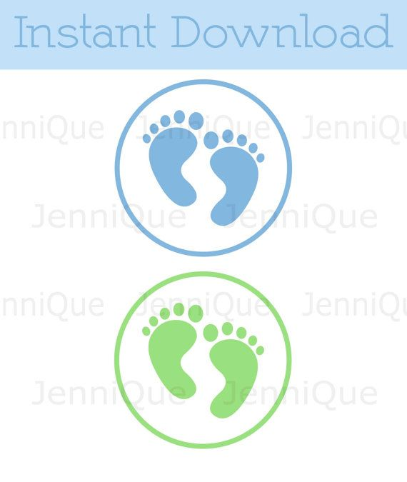 image relating to Printable Baby Shower Decorations referred to as Printable Kid Toes Child Shower Decoration through