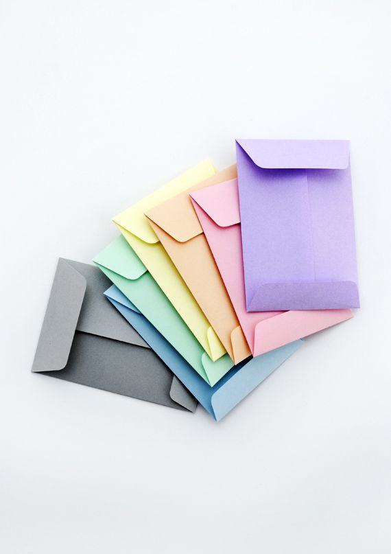 Envelope Templates (C6, C7, C8) // String-Tie & Standard Designs