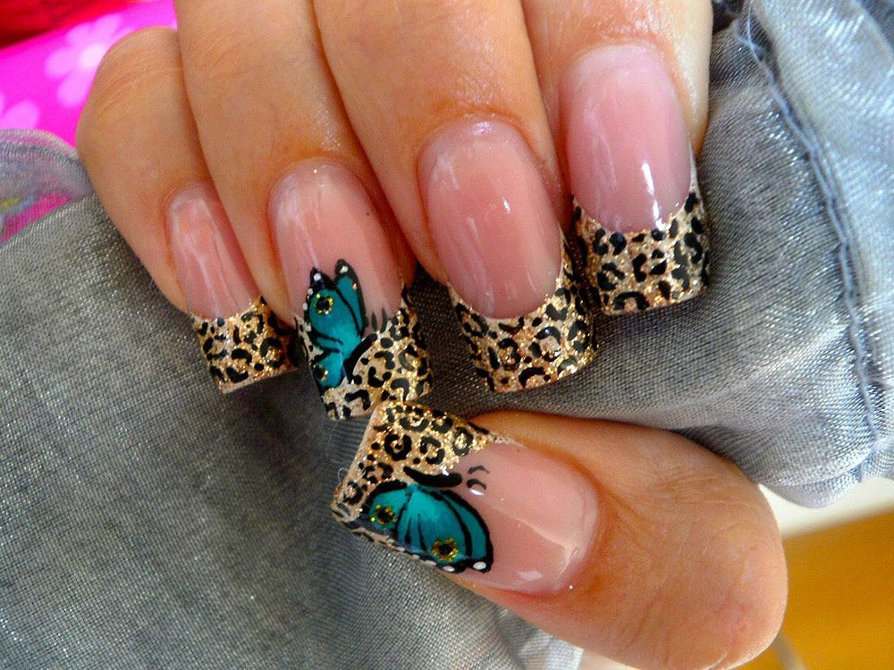 uas animal print u fotos para que uses de inspiracin nails