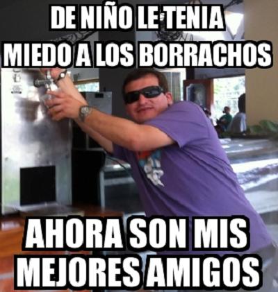 De Nino Le Tenia Miedo A Los Borrachos Borrachos Chistosos Memes De Borrachos Chistosos Borrachos