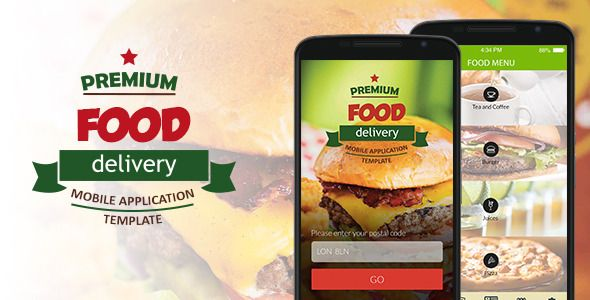 Food Delivery Mobile Application Template  Food Delivery Mobile - application template