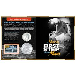 40th Anniversary Man's First Step on the Moon | American ...