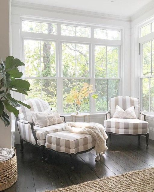 Ethan Allen Chairs Would Be Good For Sunroom Along With A Table And