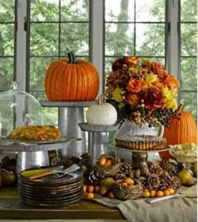 Holiday Buffet Decorating Ideas Part - 33: Buffet+Tablescapes | Fall Tablescape Buffet Style · Thanksgiving IdeasHoliday  IdeasThanksgiving TablescapesThanksgiving Table ...