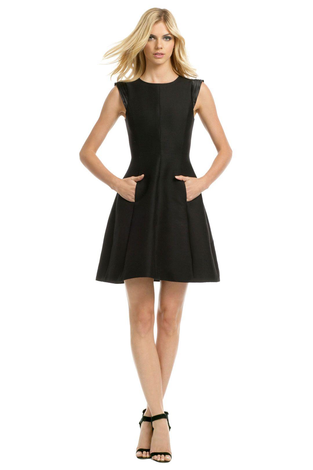 Halston Heritage Night Crawler Dress Dresses Casual Dresses Lil Black Dress [ 1620 x 1080 Pixel ]