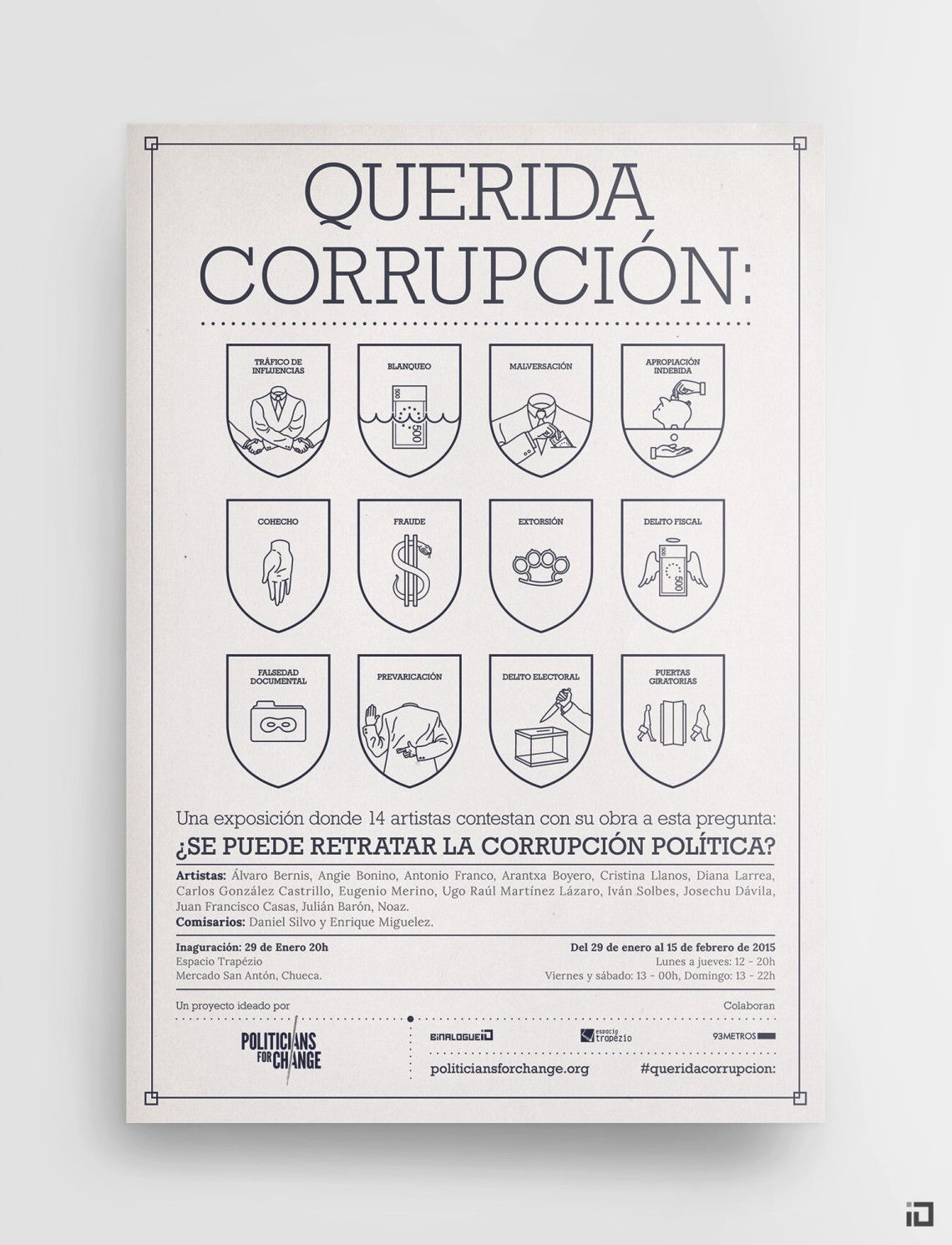 Politicians For Change - Branding - Binalogue - Art direction