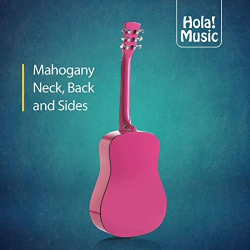 Acoustic Guitar Bundle Junior Travel Series By Hola Music Instrumentstogo Com Acoustic Guitar Guitar Acoustic