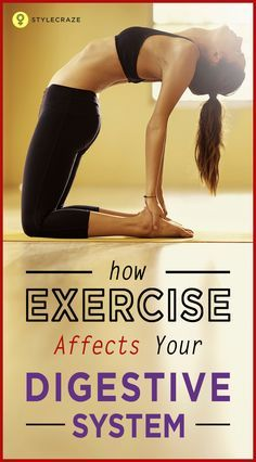 how does exercise affect your digestive system