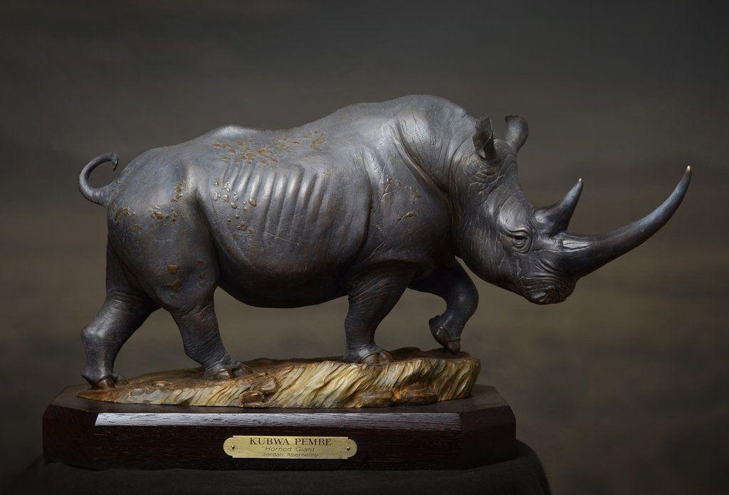 White Rhino by JordanAbernethy.deviantart.com on @deviantART