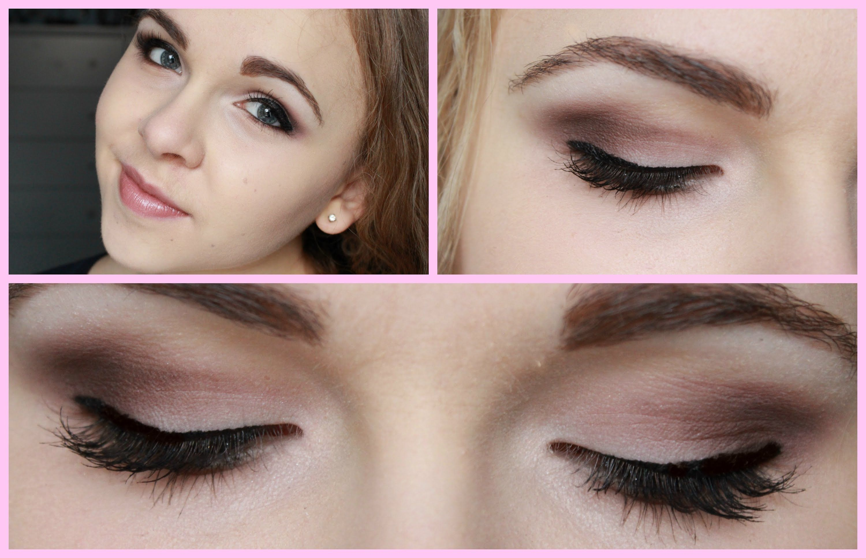 Today's tutorial is for a dramatic smokey eye look! PLEASE OPEN + KEEP READING! :) 1) Sorry for my sick voice + crazy hurrr! I just really liked this makeup ...