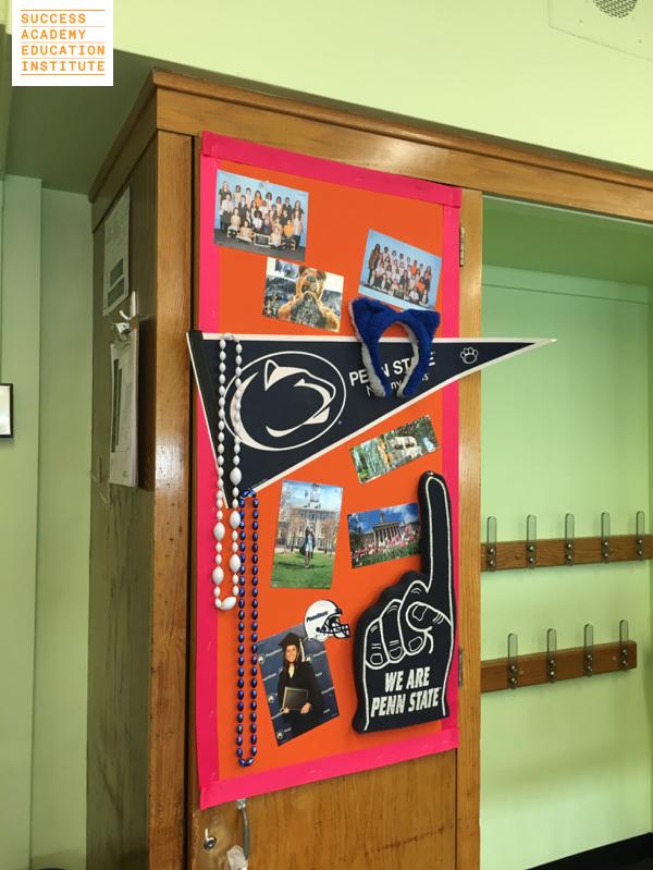 Classroom Inspiration: College Corner | Inspire your