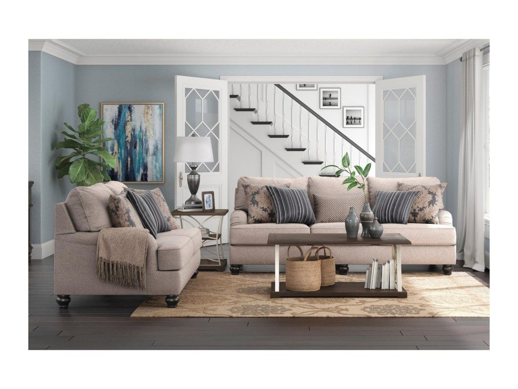 Ashley Furniture Fermoy Living Room Group | Furniture and ...