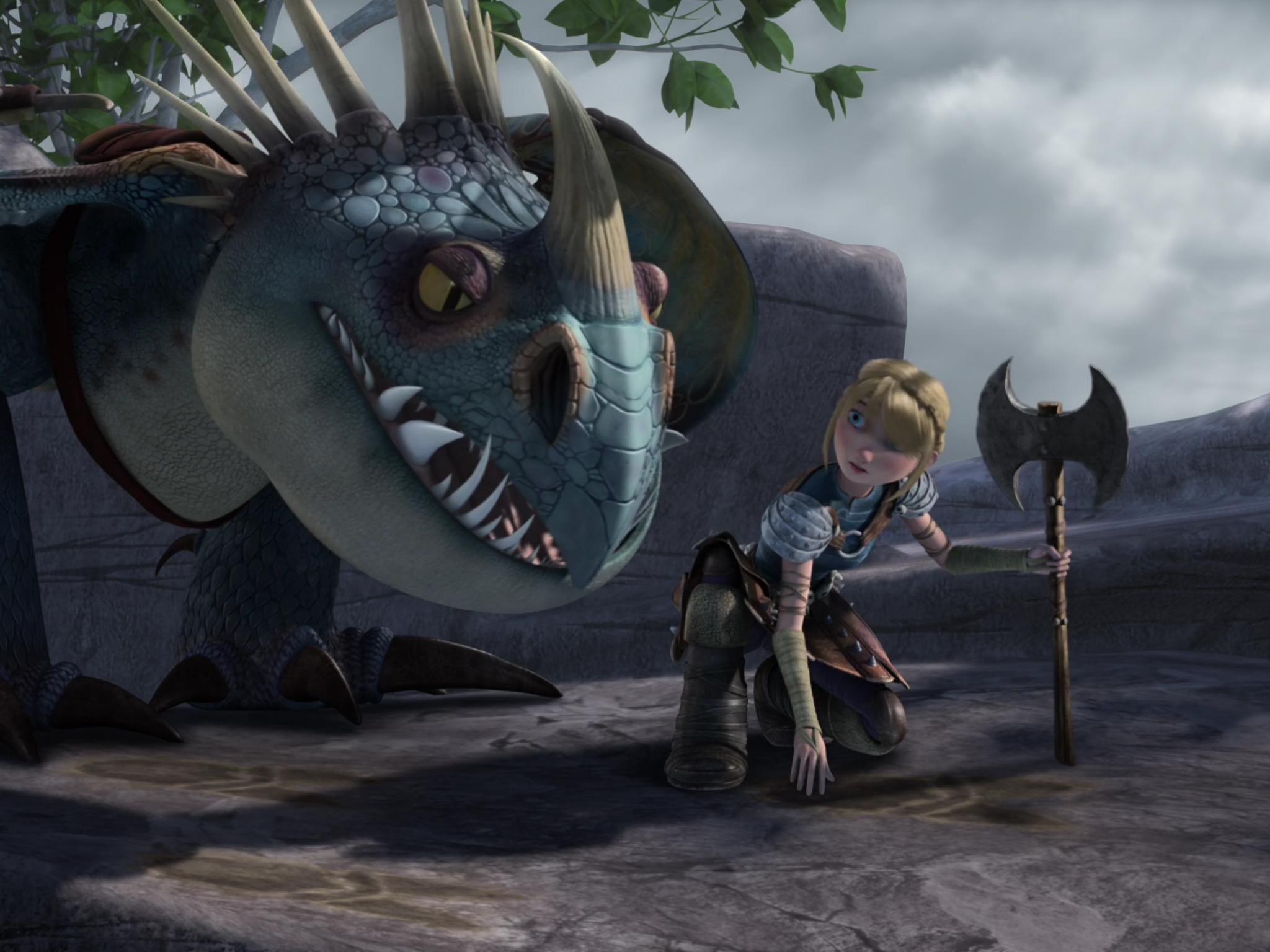 DreamWorks Dragons Dragon Riders Astrid /& Stormfly dragons trainer