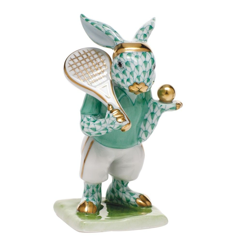 TENNIS BUNNY 395.00 in 2020 Bunny, Hand painted