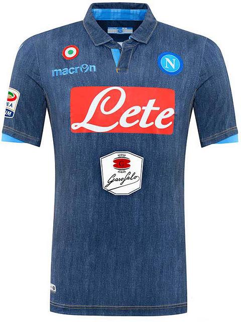 A polêmica camisa jeans do Napoli - Coleção de Camisas.com  cc4396c535706