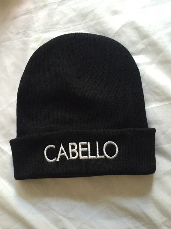 Fifth Harmony Camila Cabello Beanie by RadWearApparel on Etsy ... ef79ef076eb