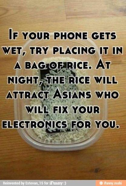 Wet phone?? Problem solved