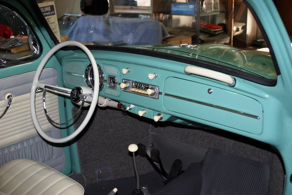 Original Style 1962-63 VW Beetle Interior and Upholstery ...