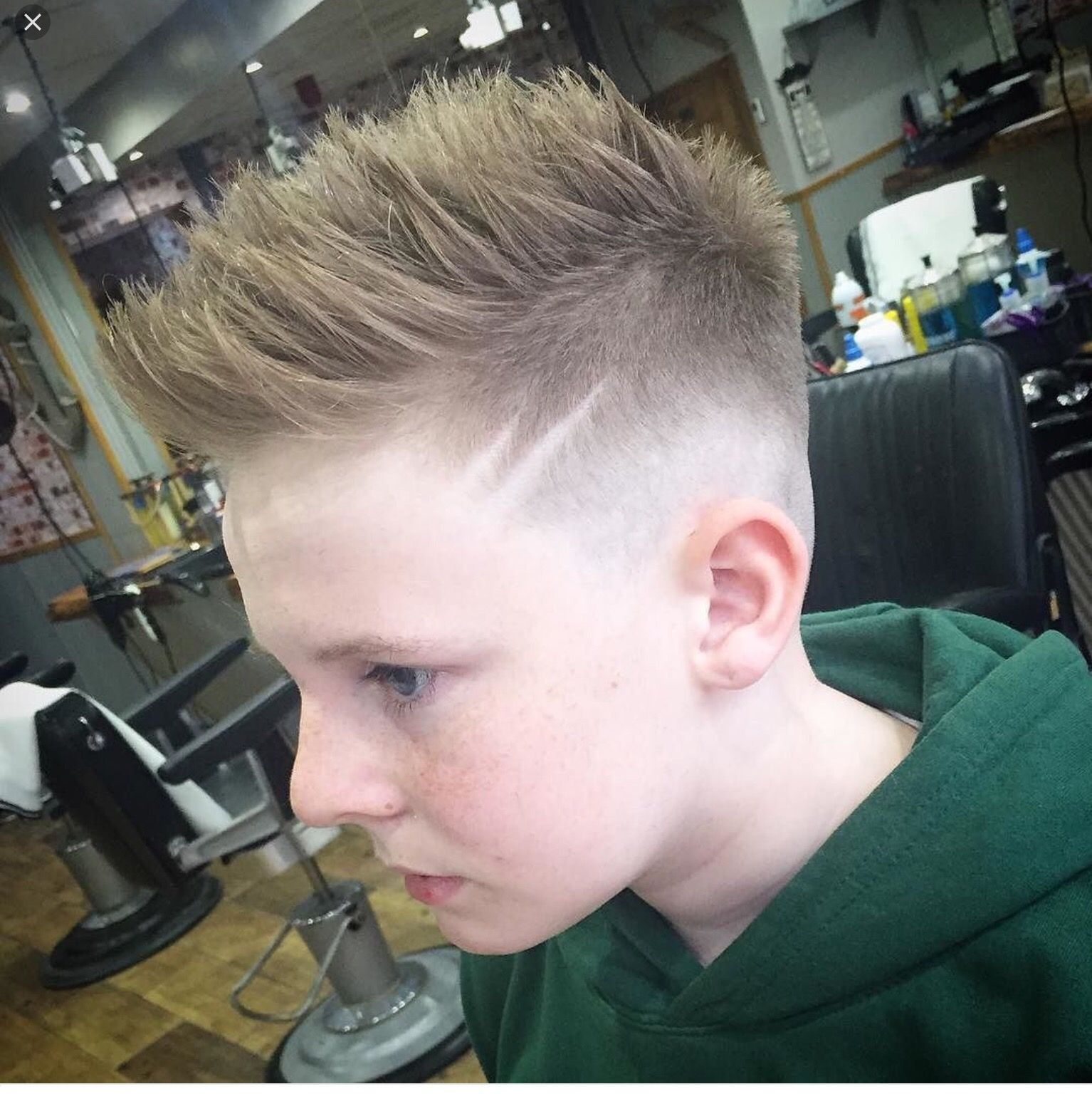 Side lines haircuts pinterest boy hairstyles boy hair and check out these 31 cool hairstyles for boys for classic and popular styles there are short haircuts curly styles and the latest trends winobraniefo Images