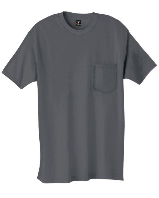 Amazon.com: Hanes 5190P Ringspun Cotton Beefy T-Shirt with Pocket: Clothing