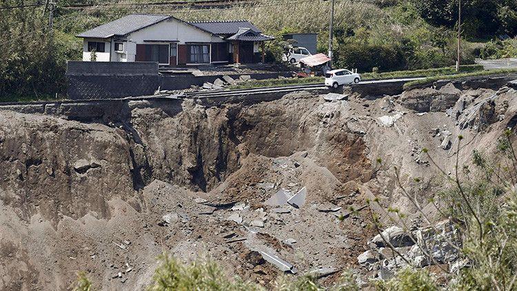 Un terremoto de magnitud 5,8 sacude Japón