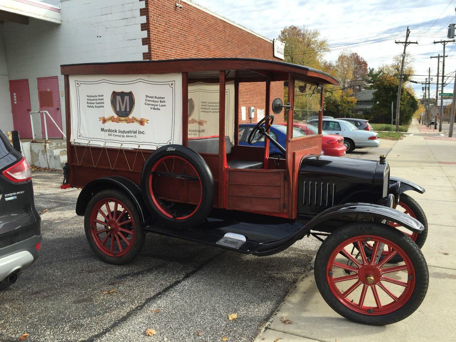 1923 Ford Model T Delivery Van Ford Models Classic Cars Vintage Model T