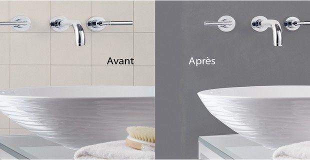 Carrelage Sans Joint Pour Salle De Bain Idees