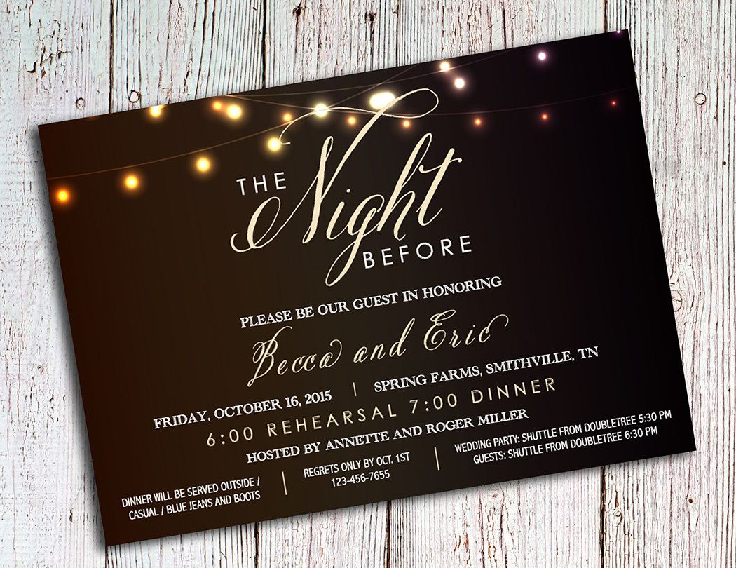 Rehearsal Dinner Invitations Rustic Party Invitations Etsy In 2020 Wedding Rehearsal Invitations Romantic Invitation Rehearsal Invitations