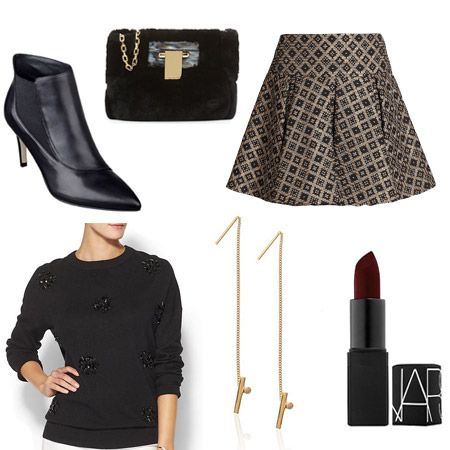 Holiday Party Outfits: A Festive Day-To-Night Look You'll Wear All Season Long : Lucky Magazine