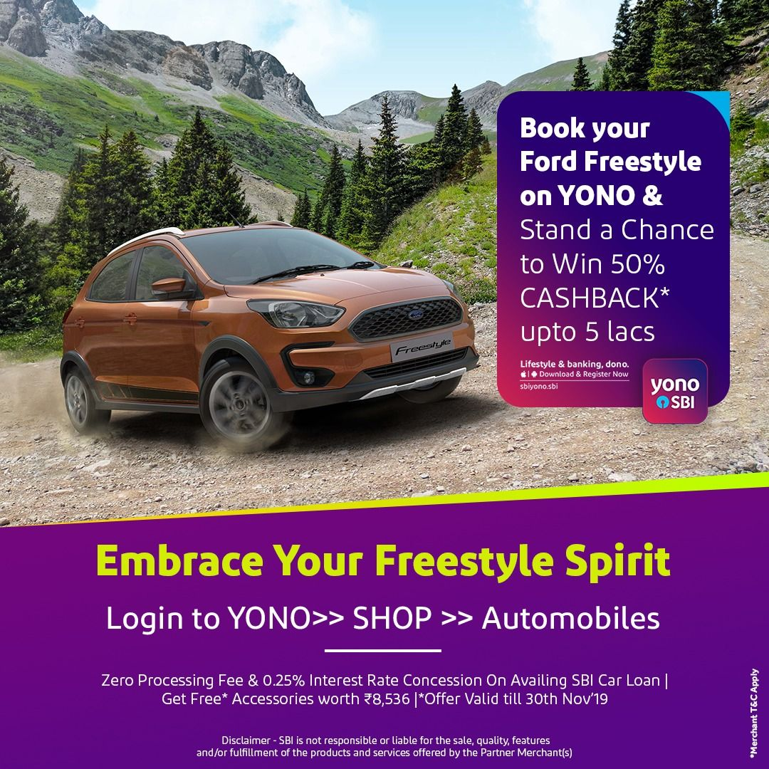 Ford Freestyle Exudes A Sense Of Confidence So Explore The Unknown Streets With No Regrets And Fear Push The Pedal And Discover Car Loans Cashback Freestyle