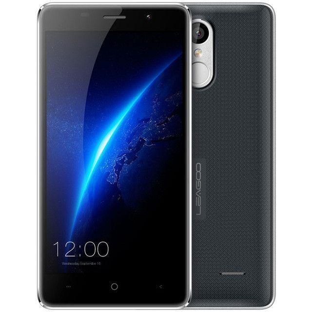 Original Leagoo M5 Android 6.0 5.0 inch 3G Smartphone MTK6580 1.3GHz Quad Core 2GB RAM 16GB ROM Finggerprint Mobile Cellphone