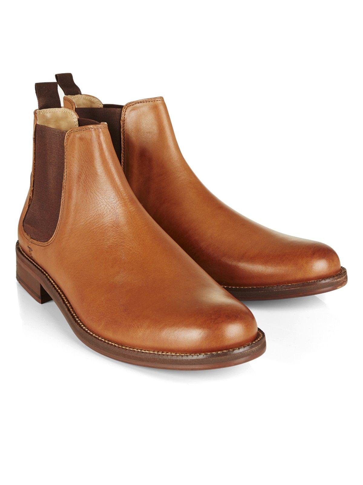 BEN SHERMAN Boots en cuir à brides Waxing Jeu Meilleur Magasin Pour Obtenir HpHHmAjPYG