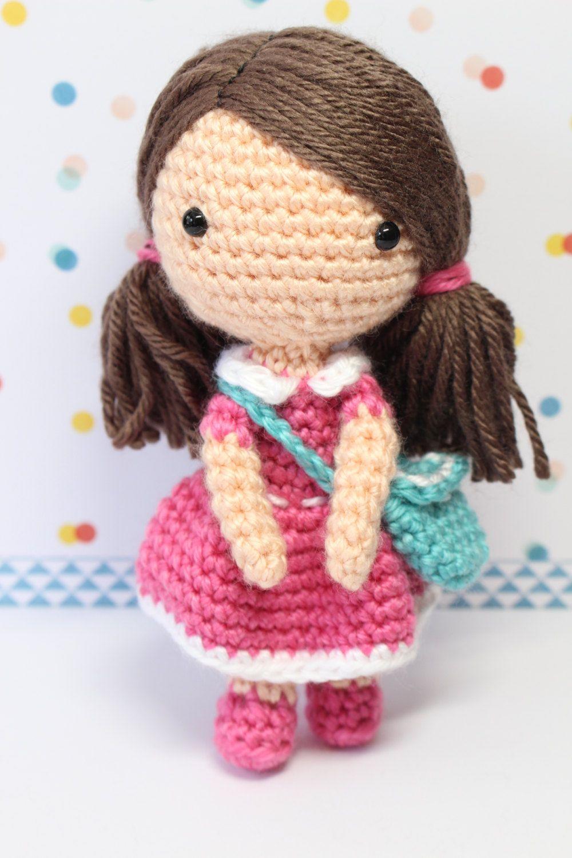 Crochet Amigurumi Cute Girl Candy Dolls PDF Pattern ...
