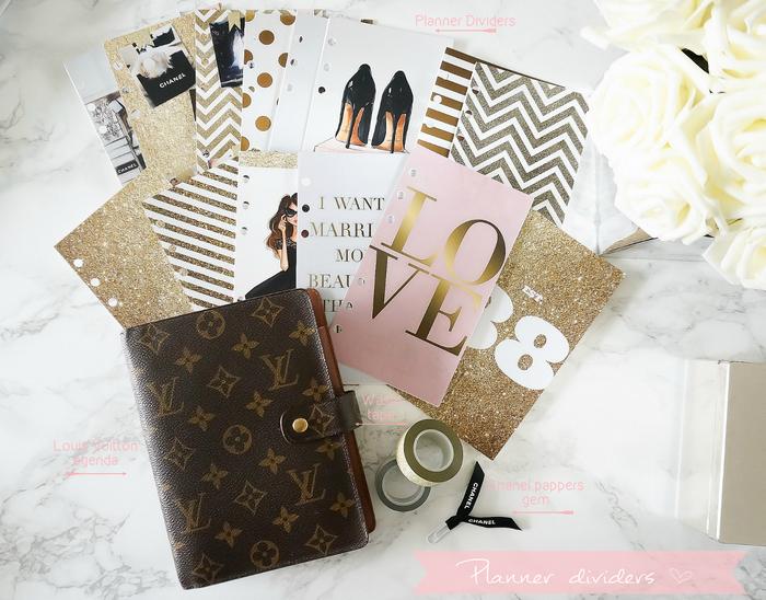 8f880369315b DIY Planner Dividers for my Louis Vuitton mm agenda. www.shefabulous ...